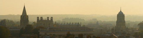 Oxford Skyline Panorama from St Mary's Church / DAVID ILIFF.  License CC-BY-SA 3.0