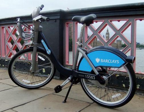 'Barclays Cycle Hire bike' / James Cridland (CC BY 2.0 via Commons)