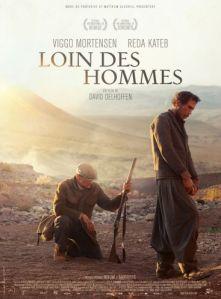 Cartel de 'Lejos de los hombres'.