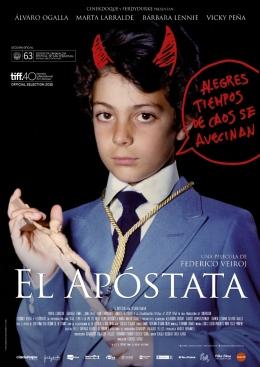 Poster El apóstata A4 (724x1024)