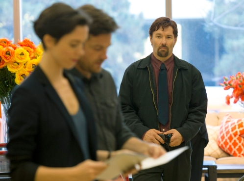 Rebecca Hall, Jason Batemany Joel Edgerton en 'The gift'