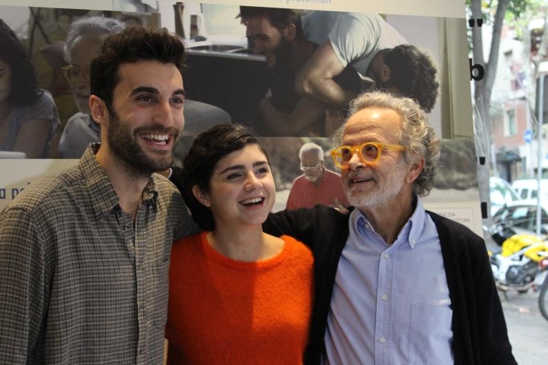 Lluís Marqués, Olivia Delcán y Fernando Colomo
