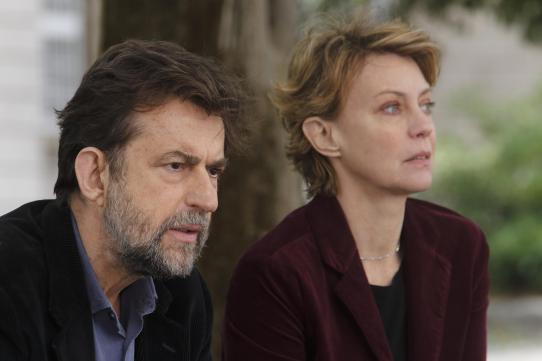 Margherita Buy y Nanni Moretti en 'Mia madre'