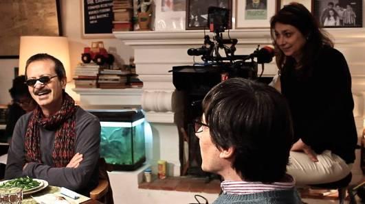 Francesca Archibugi durante el rodaje de 'Il nome del figlio'