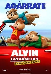 Alvin y Las Ardillas_Poster 2