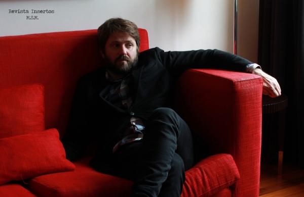Dagur Kári durante el encuentro en Madrid con la Revista Insertos