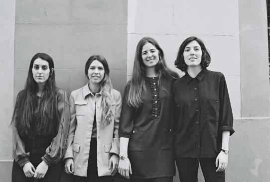 Las cuatro directoras de 'Las amigas de Ágata' / Francina Ribes