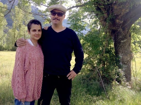 Blanca Torres y Gabriel Velázquez