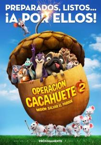 """Cartel """"Operación Cacahuete 2. Misión: Salvar el parque"""" 11 de octubre en cines"""