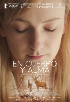 cartel póster de la película En cuerpo y alma (On body and soul)