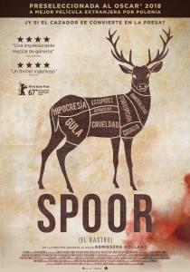 Spoor (El rastro) póster cartel crítica Insertos