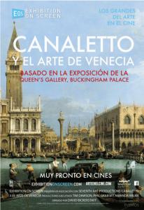 Poster cartel Canaletto y el arte de Venecia Crítica Insertos