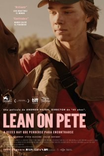 Lean on Pete póster cartel Insertos