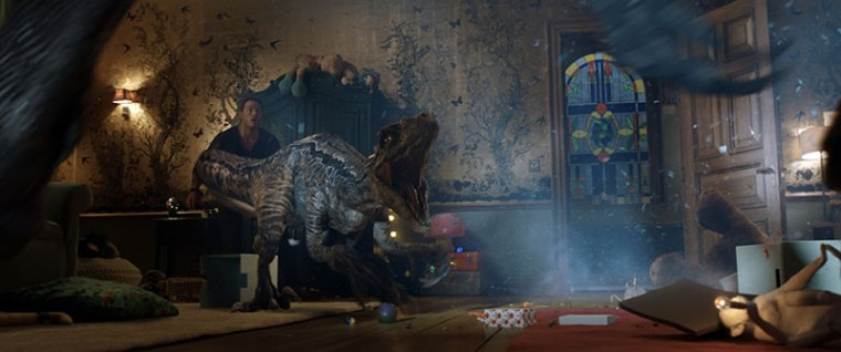 Jurassic World el reino caído crítica Insertos