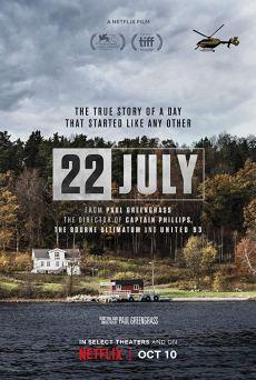 22 de julio poster cartel