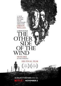 Al otro lado del viento póster cartel