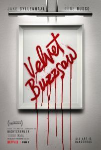 Velvet Buzzsaw poster cartel crítica insertos